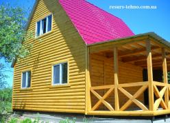 Country houses for living in summer and winter