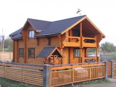 Out-of-town rest near Kiev. Cottages with pool and sauna